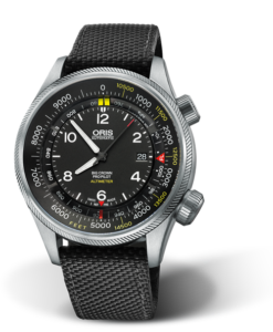 ORIS BIG CROWN PROPILOT ALTIMETER MIT FUSS-SKALA Ref: 01 733 7705 4134-Set 5 23 15FC