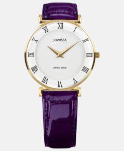 JOWISSA 左薇莎手表 罗马系列 紫色 大号