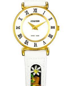 JOWISSA 左薇莎手表 罗马ETHNO系列 白色 大号